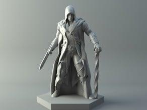 Elf assassin - D&D miniature.