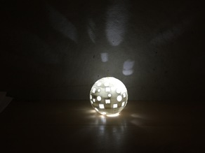 Disco Globe Light