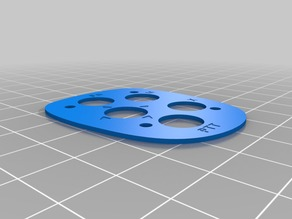 SteFly front plate for remote stick