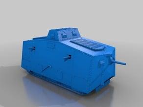 ww1 tank fortress A7V