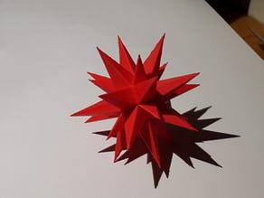 Christmas star (Moravian/Herrnhut star)