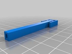 Tressel clip for marblevator