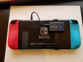 Nintendo Switch - bluetooth audio clip mount