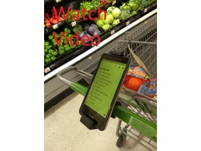 Shopping Cart Phone Holder