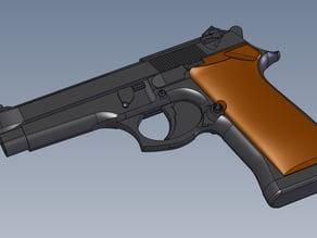 Beretta prop gun