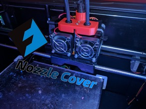 Flash Forge Creator Pro Extruder Cover