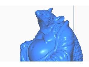 Armadillo Buddha