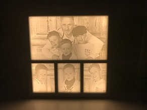 Lithophane Box with Frame V.5
