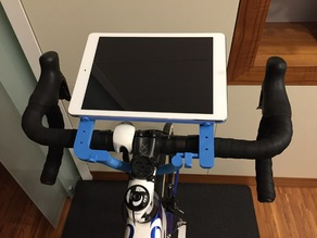 Tablet bike stand