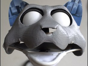 Fursuit- or puppet-head base - version10