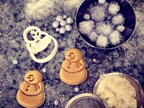 Snowman Cookie Cutter