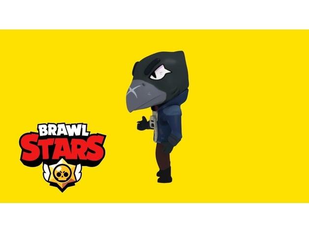 crow - brawl stars by optimusdwb