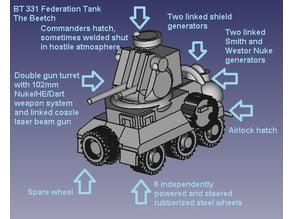 BT331 Federation Tank