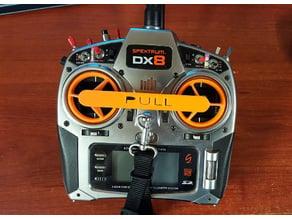 Linkage bar for sticks protection DX8 spektrum