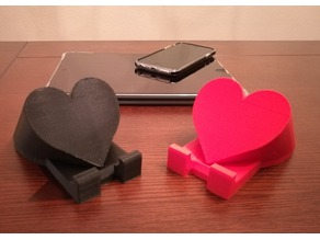 Heart Shaped phone and tablet stand
