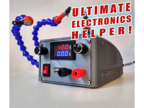 Ultimate Electronics Helper - Bench PSU with Helping Hands
