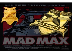 MFP Badge - Maintain Right (Mad Max)