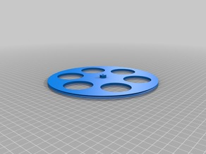 My 200mm Customized Wheel for 28BYJ-48 stepper motor