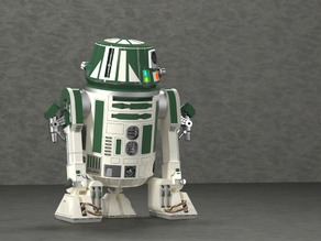 R6C9 - Astromech droid (created in PARTsolutions)
