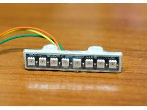 RGB LED Strip Mount (8 LED / WS2812) for ZMR250