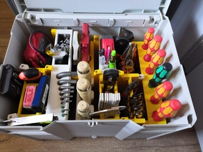 Toolbox system for systainer and wallmount