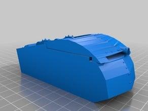 New Crawler hull detailed