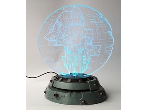 Death Star hologram Stand