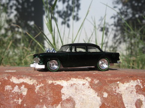 Hotwheels '55 Gasser Lowered Chassis