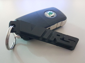 Skoda VRS Keychain