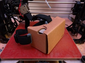 Google Cardboard (30mm) Elastic Headband Mounts