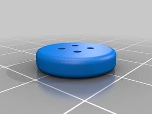 Button, 15mm diameter