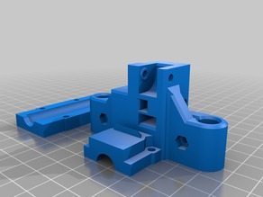 S.T.E.V.E gantry end for 2x LM 8uu bearings