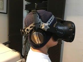 HTCVive Bracket for Welding headgear mod.