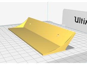 Rear Wing for RC Cars (Nascar Style)