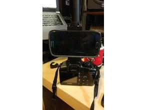 Hotshoe Adjustable Cellphone Mount