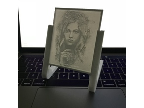 Lithophane Photo Stand (3-4mm) Update (18 Dec)