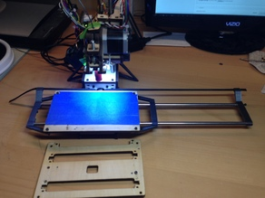 PrintrBot Simple X-axis GT2 Belt & Extension