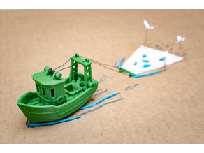 FIN the little Trawler (visual benchy)