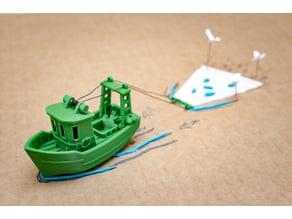 FIN the little Trawler (visual benchy)