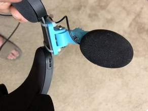 Oculus Rift S and Quest Spring Loaded Headphone Holder