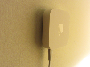 Invisible Airport Express / Apple TV Wall Mount (adaptable)