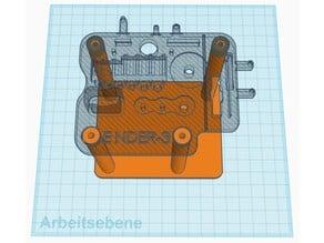Base plate Tool Holder Ender 3