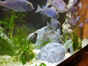 Aquarium Decoration - Textured Rock Cave - Large B