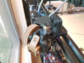 Voron Mobius2 Extruder 2020 Adapter Brackets - Rotates Extruder 90 degrees