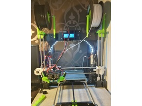 """""""Hulk"""" Frame Brace Remix for the Anet A8-M"""