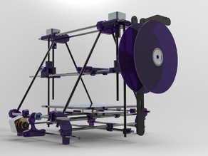Side Mounded Extruder and Spool Reel