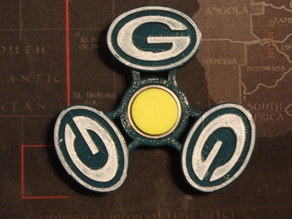 Greenbay Packers Fidget Spinner - Wingnut2k