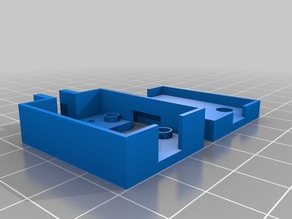 RRD Hall Effect Sensor Endstop Case for PrintrBot LC/PLUS Z axis