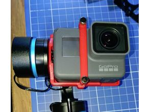 CAMONE TEC GRAVITY SPORTS Gimbal GoPro Hero5 Mount