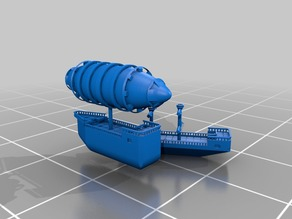 Modular 28mm Scale Ships ~ Expanded